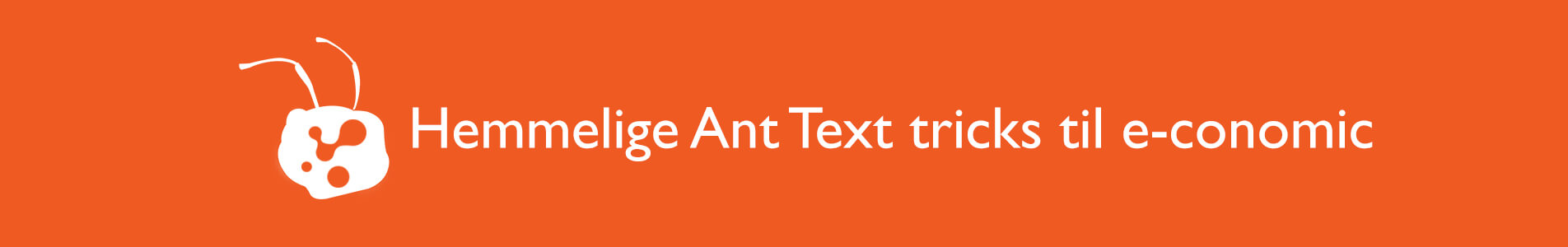 header ant text tips til economics