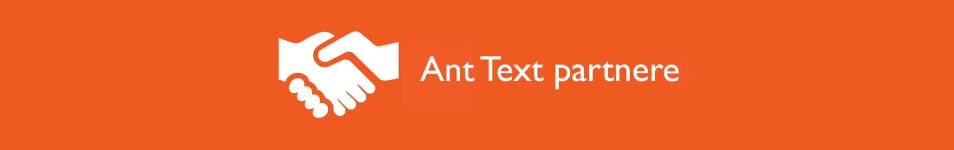 Header Ant Text partnere