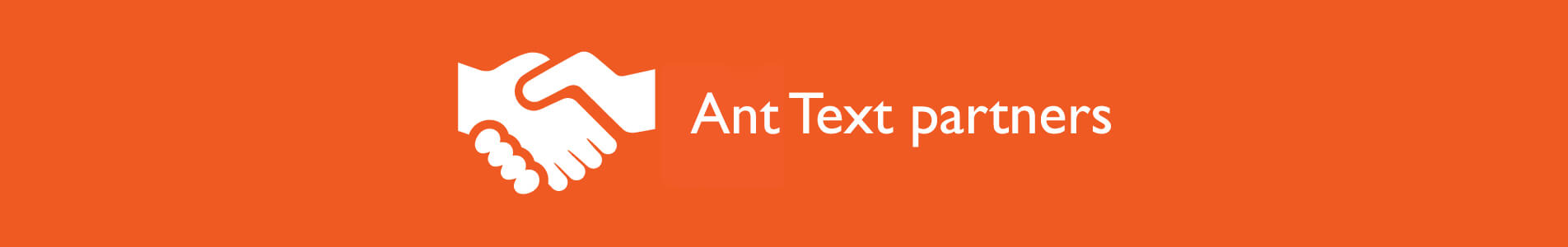 Header Ant Text partners