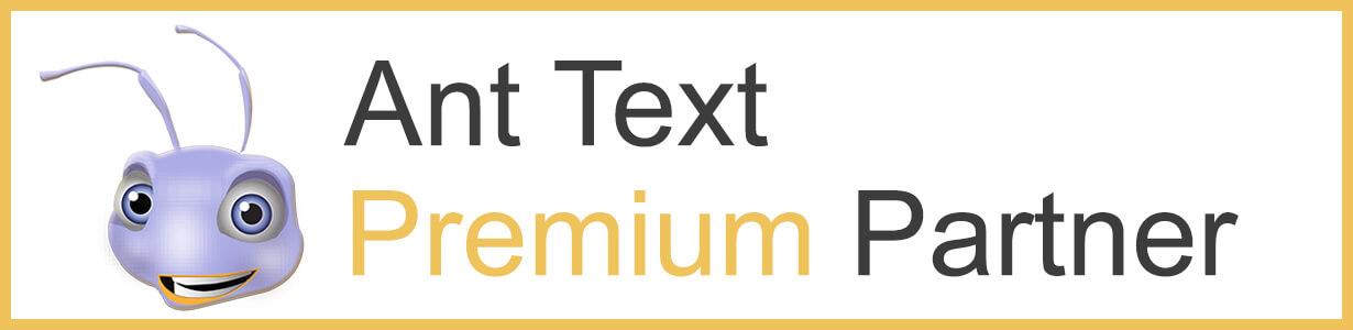 Header Ant Text premium partner