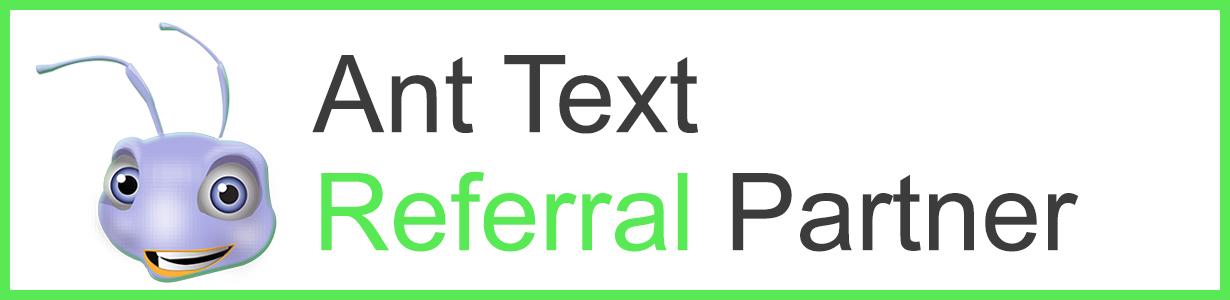Header Ant Text referral partner