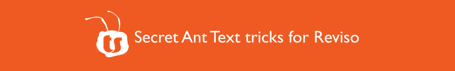 header ant text tips for Reviso