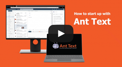 Support Get started with Ant Text